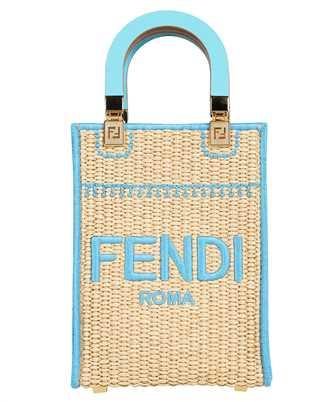 Fendi 8BS051 AFQP MINI SUNSHINE SHOPPER Bag