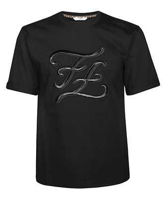 Fendi FS7011 A9ER FF KARLIGRAPHY LOGO T-shirt