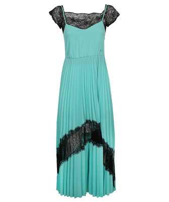 Karl Lagerfeld 211W1307 PLEATED LACE MIDI Dress