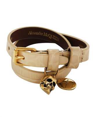 Alexander McQueen 630990 1JM11 DOUBLE WRAP Bracelet