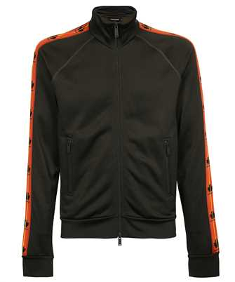 Dsquared2 S74HG0118 S25497 LEAF TAPE ZIP Sweatshirt