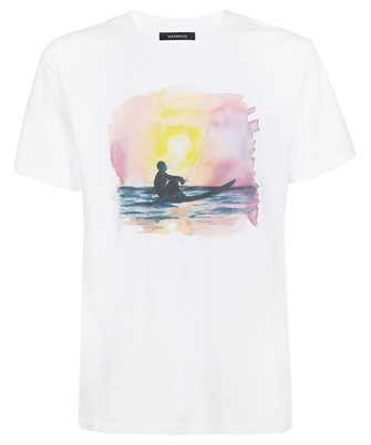 Nahmias SSTSHIRT WHITE SUNSET SURFER T-shirt