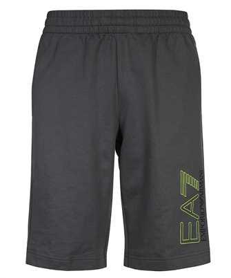 EA7 3KPS57 PJ05Z JERSEY FLEECE LOGO Shorts