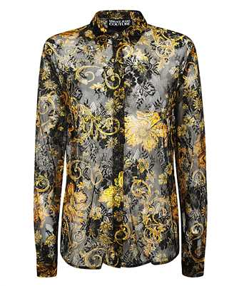 Versace Jeans Couture B0HZB602 S0876 GOLD BAROQUE PATTERN Shirt