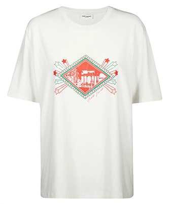 Saint Laurent 601978 YBPB2 JARDIN MAJORELLE T-shirt