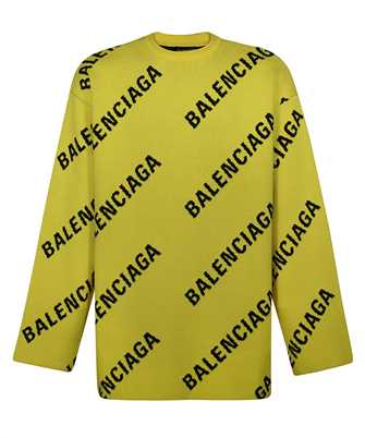 Balenciaga 657401 T3200 ALLOVER LOGO Knit
