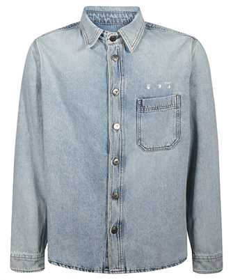 Off-White OMYD019F20DEN001 LOGO DENIM Shirt