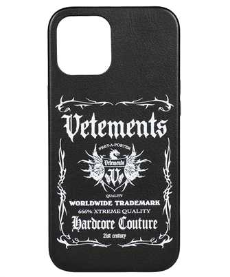 Vetements UA52SA300B BLACK LABEL iPhone 12 PRO MAX cover