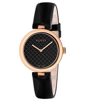 Gucci Timepieces YA141401 126SM WTMP 12D/STL&5NPVD/BRCLT 27mm Watch