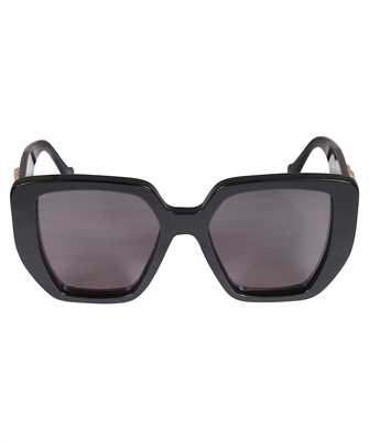 Gucci 663746 J0740 RECTANGULAR-FRAME Sunglasses