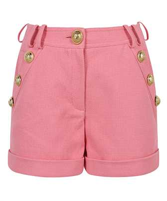 Balmain VF15010C208 LOW-RISE COTTON-PIQUE Shorts