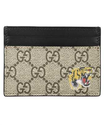 Gucci 451277 K5X1N TIGER GG SUPREME Card holder