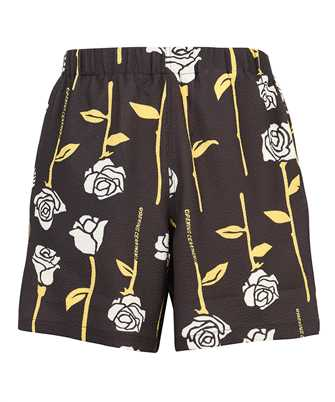 Opening Ceremony YMCB002S21FAB001 ALLOVER ROSES LOUNGE Shorts