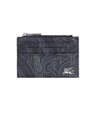 Etro 0N497 8878 PAISLEY ZIP Card holder