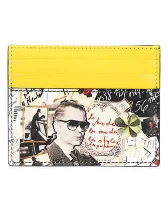 Fendi 7M0164 A8V6 KARLKOLLAGE Card holder