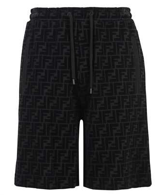 Fendi FB0689 A7D5 FF PIQUET PRINT Shorts
