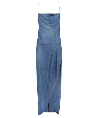 Balmain VF0RN040I667 LONG DENIM Dress