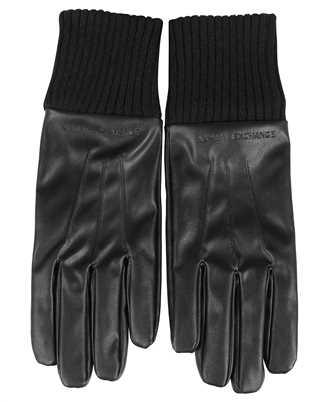 Armani Exchange 954631 1A171 EMBOSSED LOGO Gloves