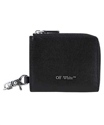 Off-White OMNC021F20LEA004 CHAIN Wallet