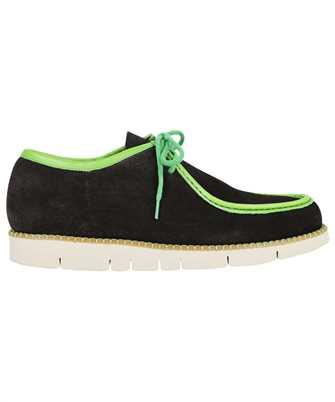 Etro 11360 3812 PAISLEY PRINT BOAT Shoes