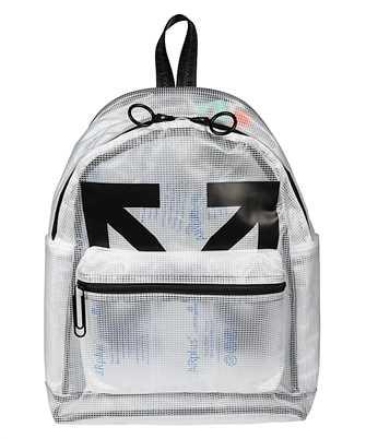 Off-White OMNB029E20PLA001 ARROW PVC Backpack