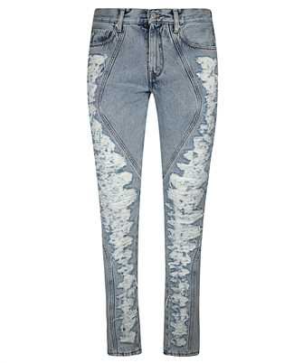 Off-White OMYA076E20DEN003 SLIM Jeans