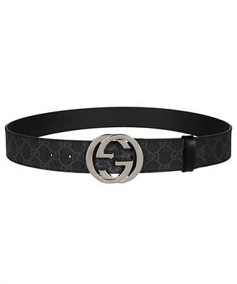 Gucci 411924 KGDHX GG SUPREME Belt