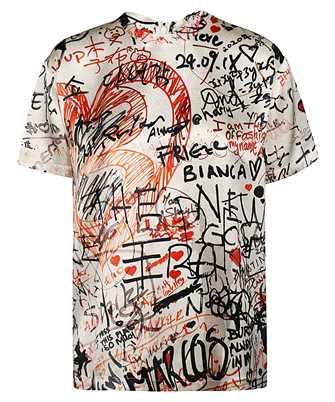 Burberry 8024116 CARRICK GRAFFITI T-shirt