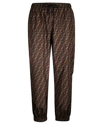 Fendi FAB527 A797 FF NYLON Trousers