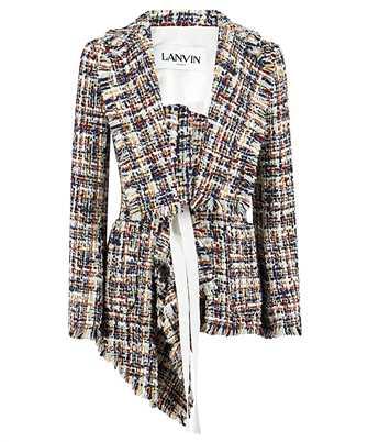 Lanvin RW-JA720U 4602 A20 ASYMMETRIC KNOTTED Jacket