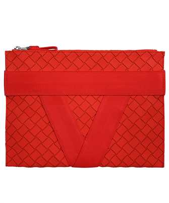 Bottega Veneta 651832 V0GK1 V-SHAPED RIBBON MOTIF Document case