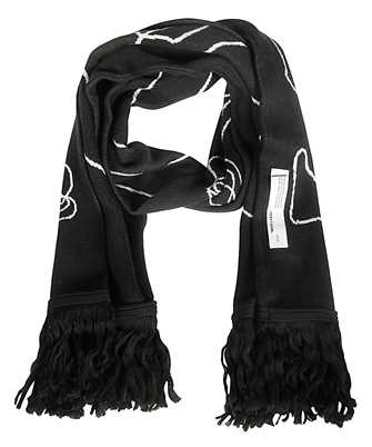 Off-White OMMA001F19407011 ABSTRACT ARROWS Scarf