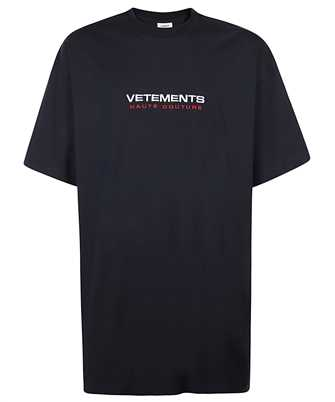 Vetements UE51TR470N LOGO HAUTE COUTURE T-shirt