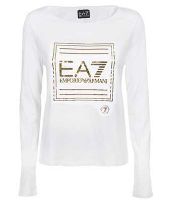 EA7 3KTT33 TJ28Z GOLD LOGO T-shirt