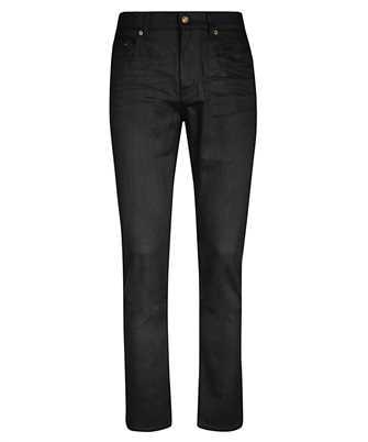 Saint Laurent 601478 YO500 CROPPED MID-RISE SKINNY Jeans