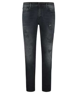 Off-White OMYA074R21DEN003 DIAG POCKET SKINNY Jeans