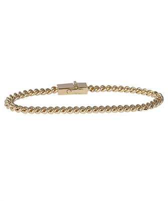 Tom Wood B01048NA01S925 9K 7.0 CURB Bracelet
