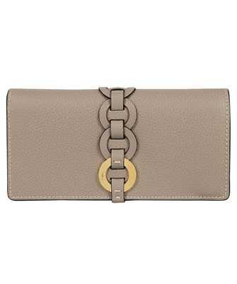 Chloé CHC21SP115E04 DARRYL LONG FLAP Wallet