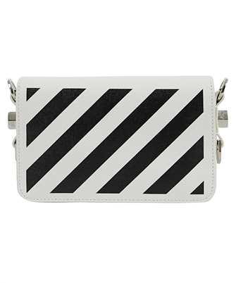 Off-White OWNA038F20LEA004 DIAG MINI FLAP Bag