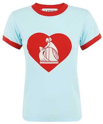 Lanvin RW-TO688J-JR34-H20 T-shirt