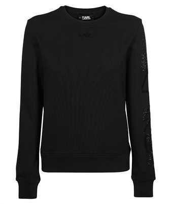 Karl Lagerfeld 211W1804 RHINESTONE KARL LOGO Sweatshirt