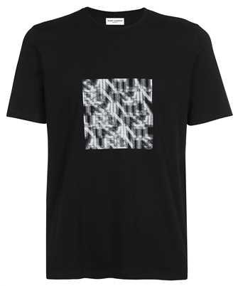 Saint Laurent 665271 Y36HP OPTICAL ILLUSION T-shirt