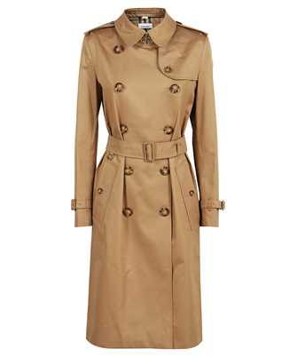 Burberry 8041099 LOGO GRAPHIC COTTON GABARDINE TRENCH Coat