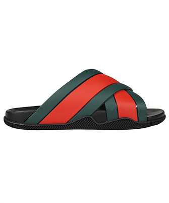 Gucci 630326 J8700 RUBBER SLIDE Sandals