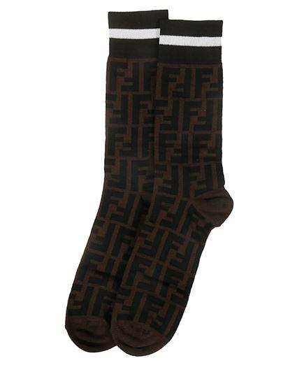 Fendi FXZ037 A4Z5 FF MOTIF Socks