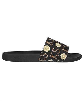 Gucci 649366 2LM00 KS RUBBER Slides
