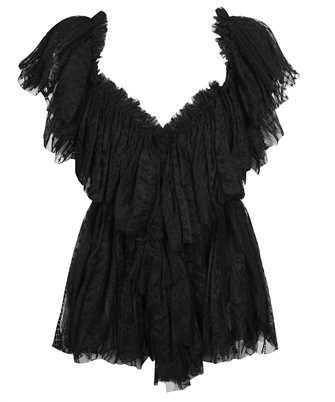 Don Dup DC223 ZF0056D XXX EMBROIDERED TULLE Top