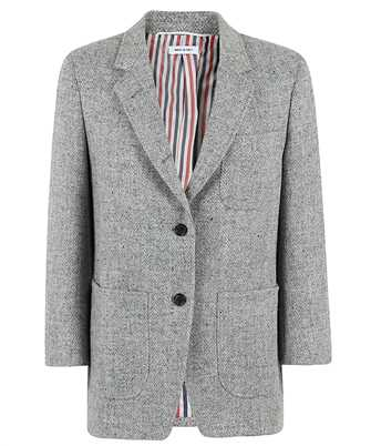 Thom Browne FBC334V 02508 HERRINGBONE HARRIS TWEED Jacket