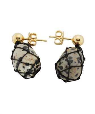 Bottega Veneta 649284 VE3F4 DALMATIAN PENDANT Earrings