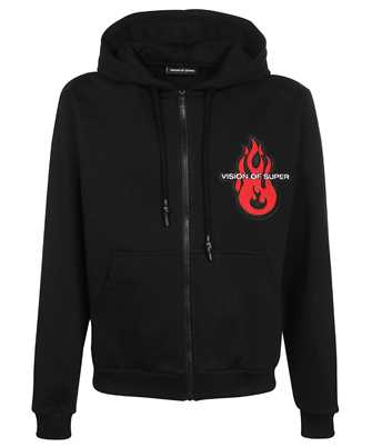 Vision Of Super B2OPENPATCH FLAME PATCH Hoodie